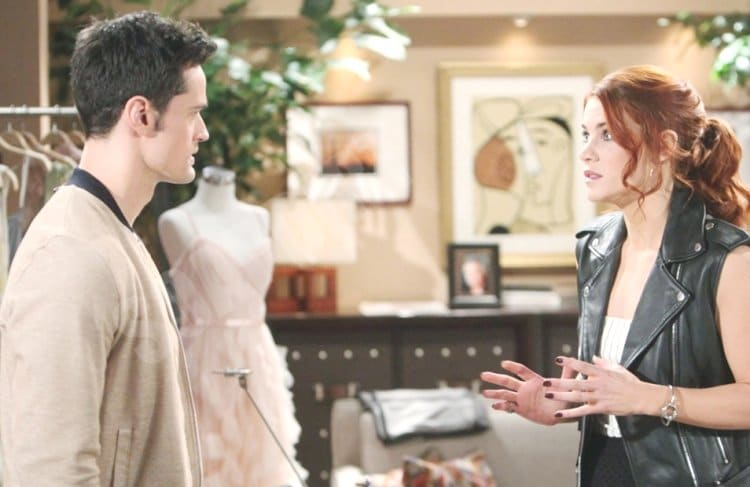Bold and the Beautiful Spoilers: Sally Spectra (Courtney Hope) - Thomas Forrester (Matthew Atkinson)