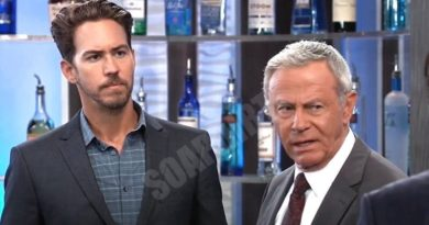 General Hospital: Peter August (Wes Ramsey) - Robert Scorpio (Tristan Rogers)