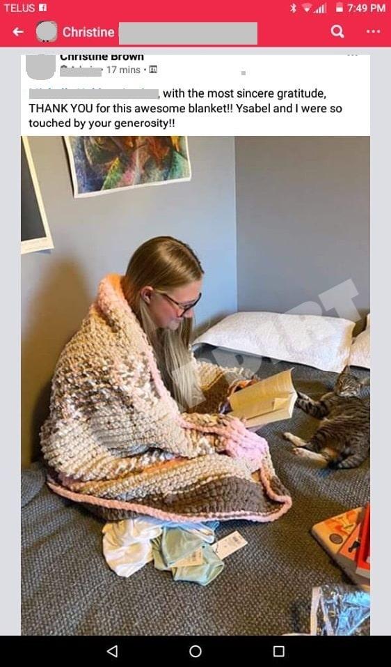 Sister Wives: Ysabel Brown Blanket