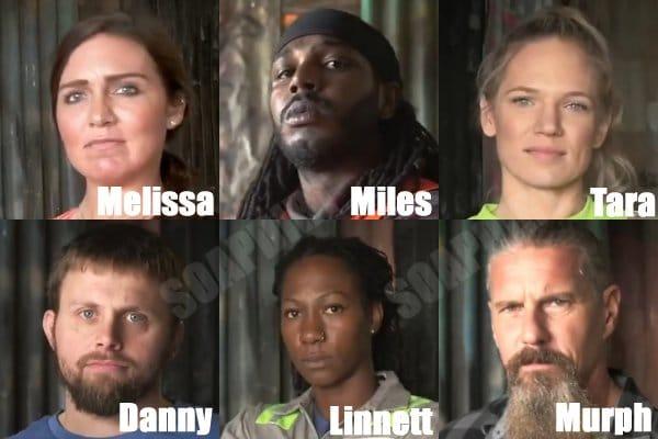 Tough as Nails: Melissa Burns - Linnett Key - Myles Polk - Murph - Danny Moody - Tara Davis - Murph