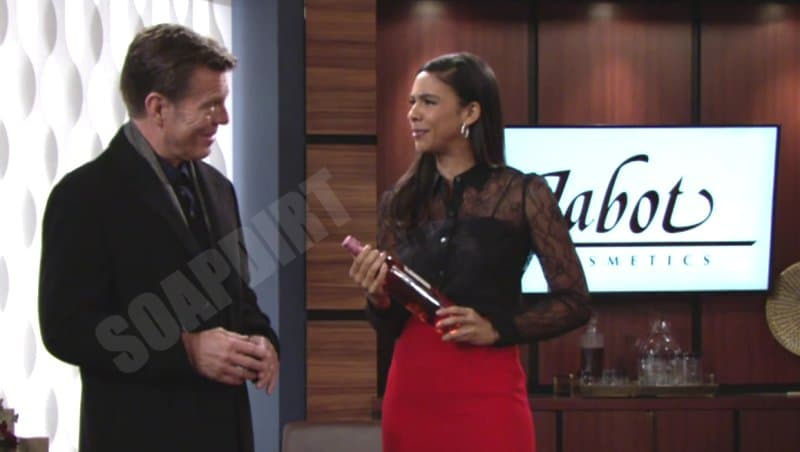 Young and the Restless: Jack Abbott (Peter Bergman) - Kerry Johnson (Alice Hunter)