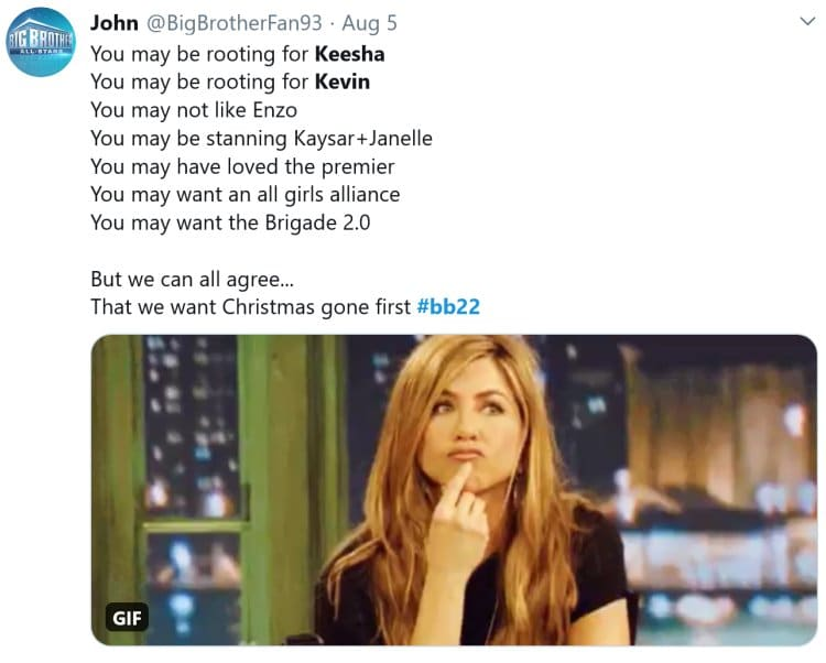 Big Brother 22: Kevin Campbell - Keesha Smith