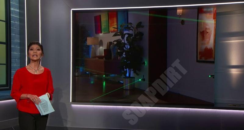 Big Brother 22: Laser- Maze - Julie Chen
