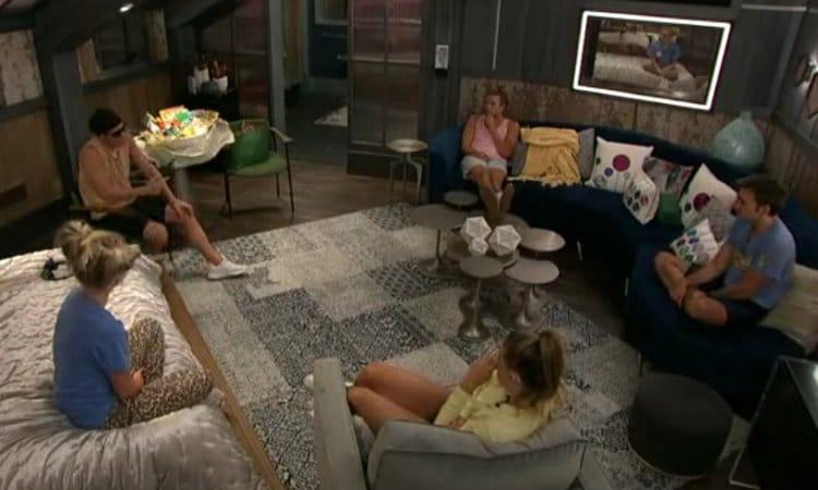 Big Brother: Nicole Franzel - Enzo Palumbo - Christmas Abbott - Ian Terry - Tyler Crispen