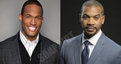 Bold and the Beautiful Comings & Goings: Justin Barber (Aaron D Spears) - Carter Walton (Lawrence Saint-Victor)
