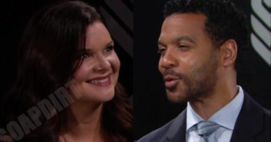 Bold and the Beautiful Spoilers: Katie Logan (Heather Tom) - Justin Barber (Aaron D Spears)