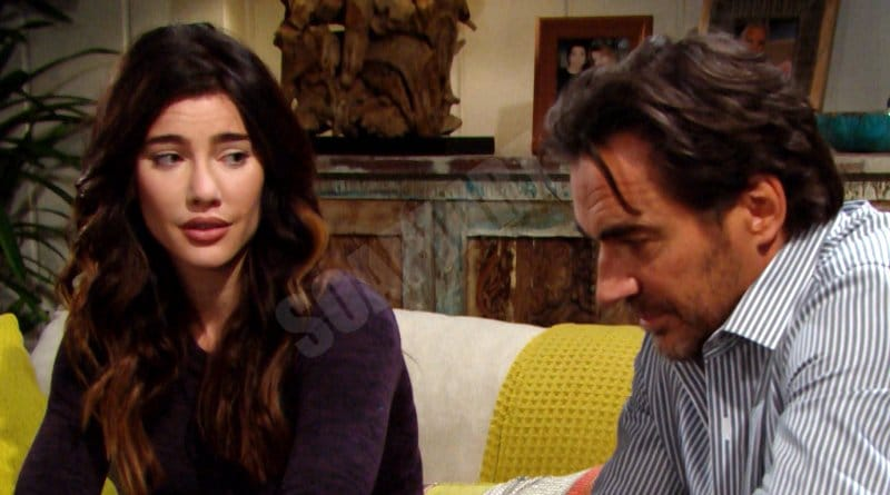 Bold and the Beautiful Spoilers: Ridge Forrester (Thorsten Kaye) - Steffy Forrester (Jacqueline MacInnes Wood)
