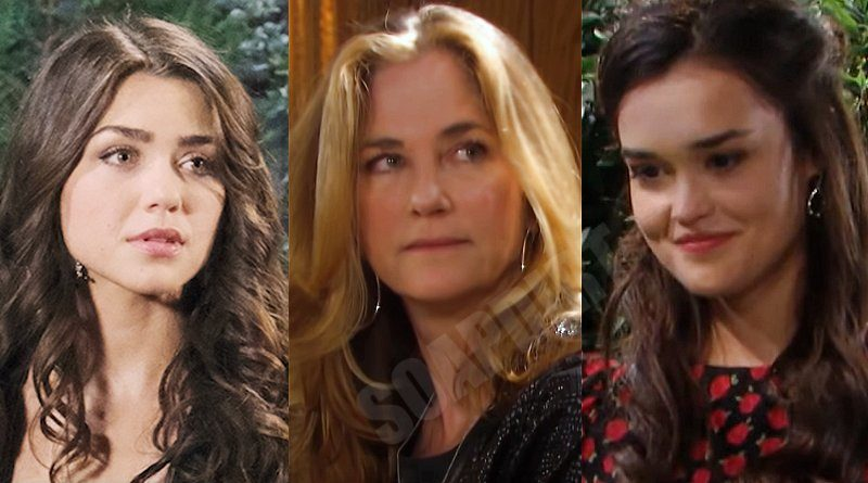 Days of Our Lives Comings & Goings: Ciara Brady (Victoria Konefal) - Eve Donovan (Kassie DePaiva) - Paige Larson (True O'Brien)