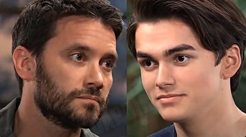 General Hospital: Dante Falconeri (Dominic Zamprogna) - Dev Cerci (Ashton Arbab)
