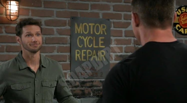 General Hospital Spoilers: Brando Corbin (Johnny Wactor) - Jason Morgan (Steve Burton)
