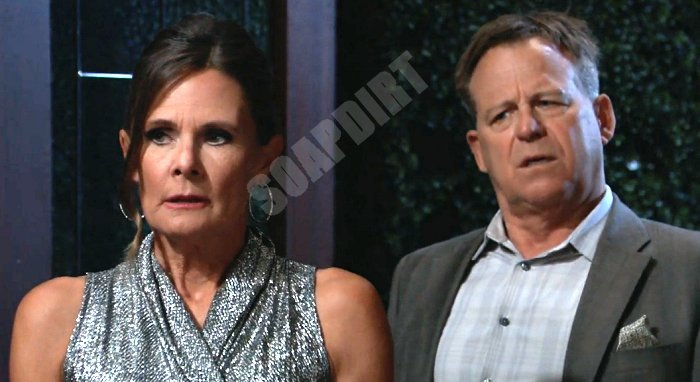 General Hospital Spoilers: Lucy Coe (Lynn Herring) - Scott Baldwin (Kin Shriner)