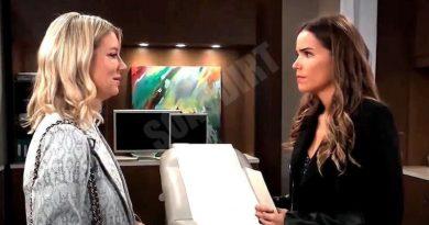 General Hospital Spoilers: Nina Reeves (Cynthia Watros) - Sasha Gilmore (Sofia Mattsson)