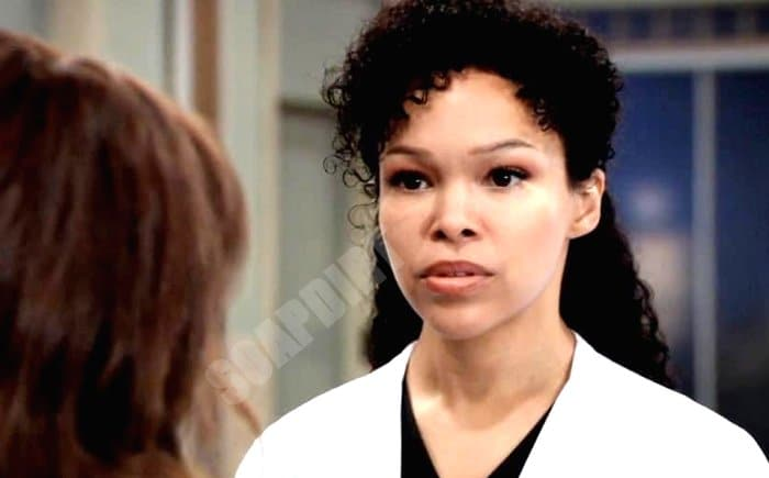 General Hospital Spoilers: Portia Robinson (Brook Kerr)