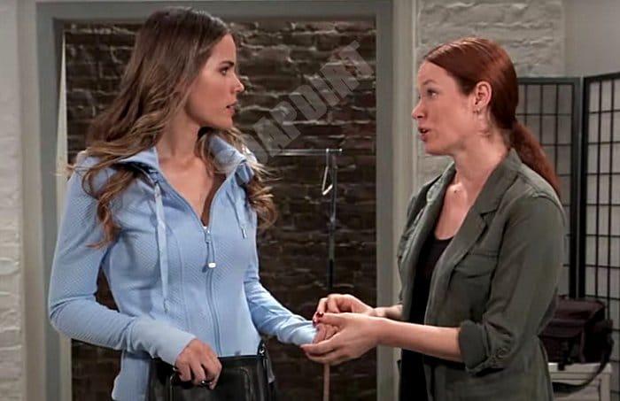 General Hospital Spoilers: Sasha Gilmore (Sofia Mattsson) - Suzanne (Jessica Galinas)