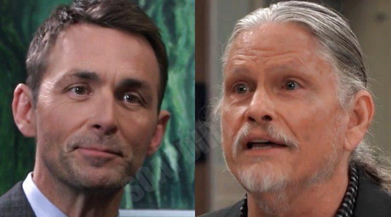 General Hospital Spoilers: Valentin Cassadine (James Patrick Stuart) - Cyrus Renault (Jeff Kober)