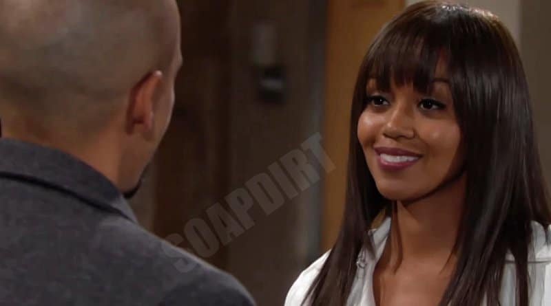 Young and the Restless Spoilers: Devon Hamilton (Bryton James) - Amanda Sinclair (Mishael Morgan)