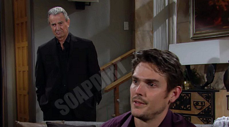 Young and the Restless: Adam Newman (Mark Grossman) - Victor Newman (Eric Braeden)