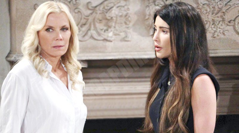 Bold and the Beautiful Spoilers: Steffy Forrester (Jacqueline MacInnes Wood) - Brooke Logan (Katherine Kelly Lang)