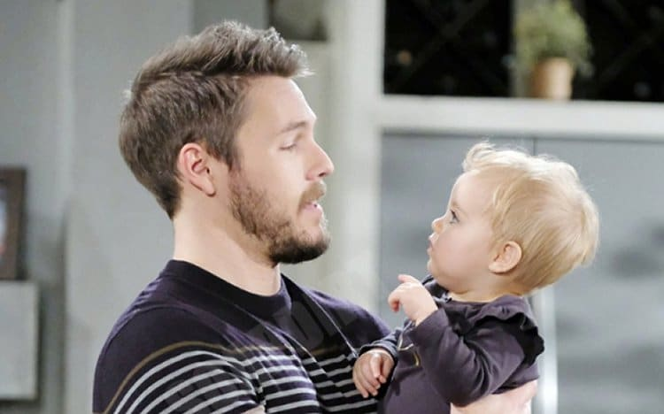 Bold and the Beautiful Spoilers: Liam Spencer (Scott Clifton) - Kelly Spencer (Zoe Pennington)