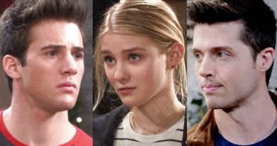 Days of our Lives Comings & Goings: JJ Deveraux (Casey Moss) - Allie Horton (Lindsay Arnold) - Evan Frears (Brock Kelly) - Christian Maddox