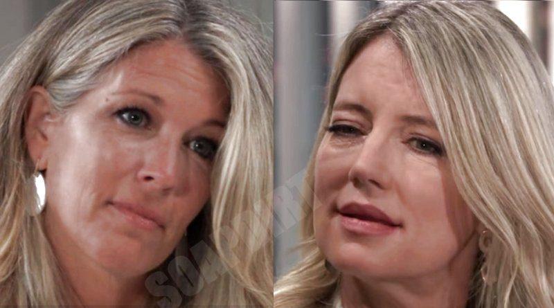 General Hospital Spoilers: Carly Corinthos (Laura Wright) - Nina Reeves (Cynthia Watros)