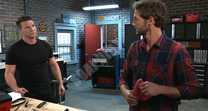 General Hospital Spoilers: Jason Morgan (Steve Burton) - Brando Corbin (Johnny Wactor)