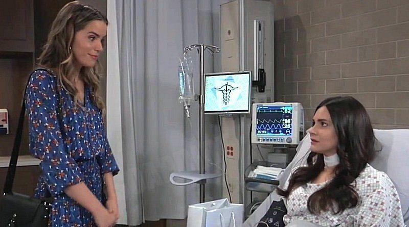 General Hospital Spoilers: Sasha Gilmore (Sofia Mattsson) - Brook Lynn Quartermaine (Briana Lane)