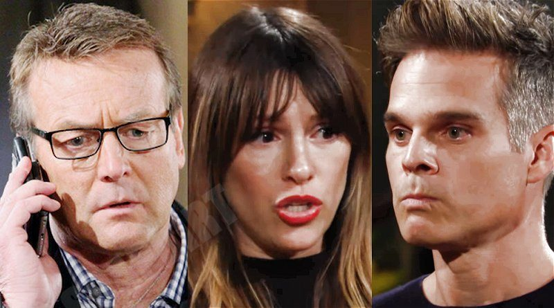Young and the Restless Comings Goings: Paul Williams (Doug Davidson) - Chloe Mitchell (Elizabeth Hendrickson) - Kevin Fisher (Greg Rikaart)