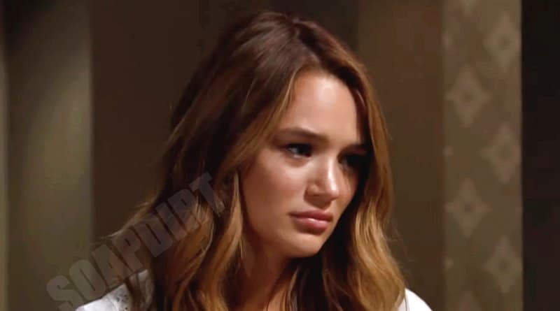 Young and the Restless Leak: Summer Newman (Hunter King)