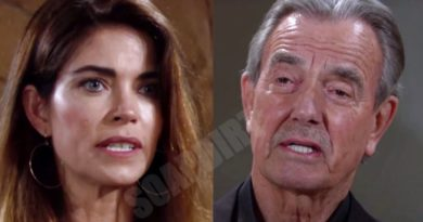 Young and the Restless Spoilers: Victoria Newman (Amelia Heinle) - Victor Newman (Eric Braeden)