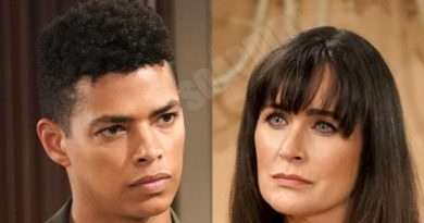 Bold and the Beautiful Spoilers: Quinn Fuller (Rena Sofer) - Zende Forrester (Delon de Metz)
