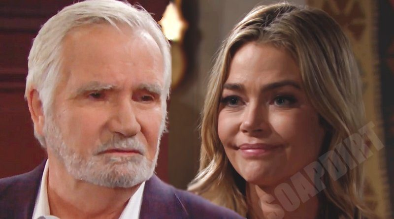Bold and the Beautiful Spoilers: Shauna Fulton (Denise Richards) - Eric Forrester (John McCook)