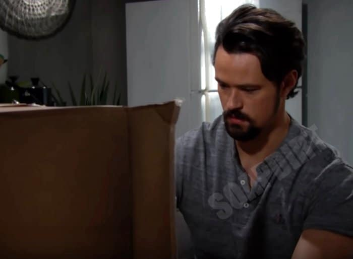 Bold and the Beautiful Spoilers: Thomas Forrester (Matthew Atkinson) - Hope Logan doll