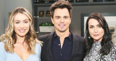 Bold and the Beautiful Spoilers: Flo Fulton (Katrina Bowden) - Wyatt Spencer (Darin Brooks) - Quinn Fuller (Rena Sofer)