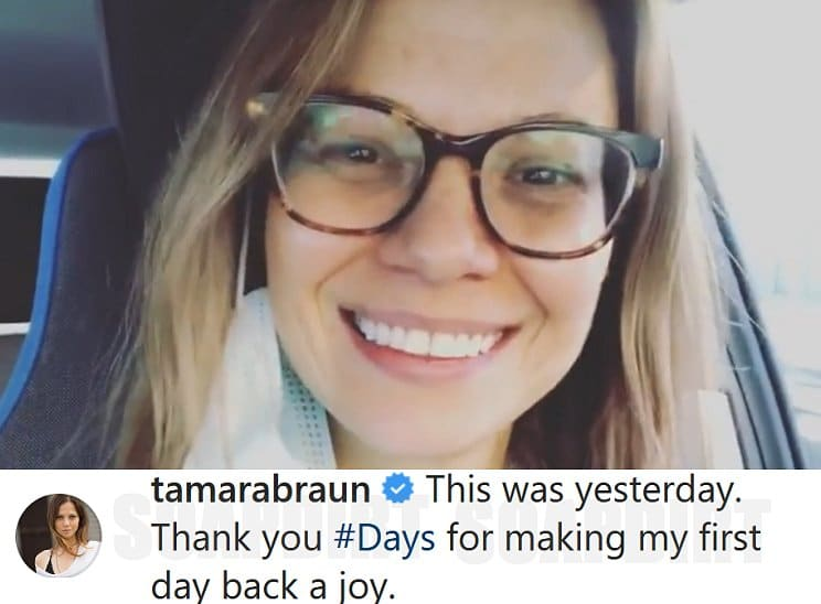 Days of Our Lives Spoilers: Tamara Braun (Ava Vitali)