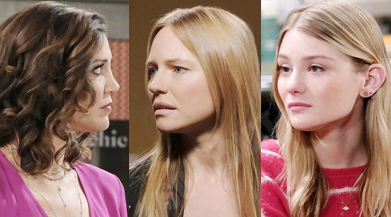 Days of our Lives Spoilers: Jan Spears (Heather Lindell) - Abigail Deveraux (Marci Miller) - Allie Horton (Lindsay Arnold)