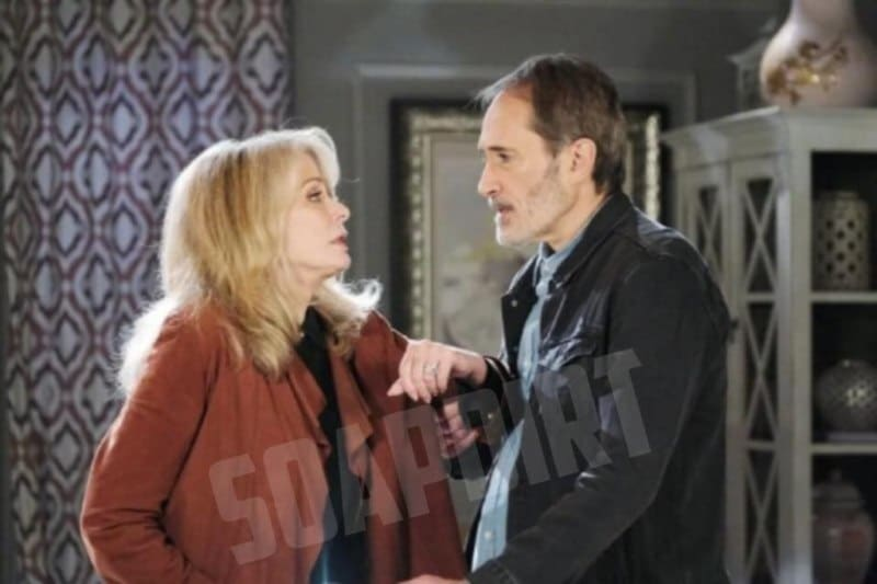Days of our Lives Spoilers: Orpheus (George DelHoyo) - Marlena Evans (Deidre Hall)