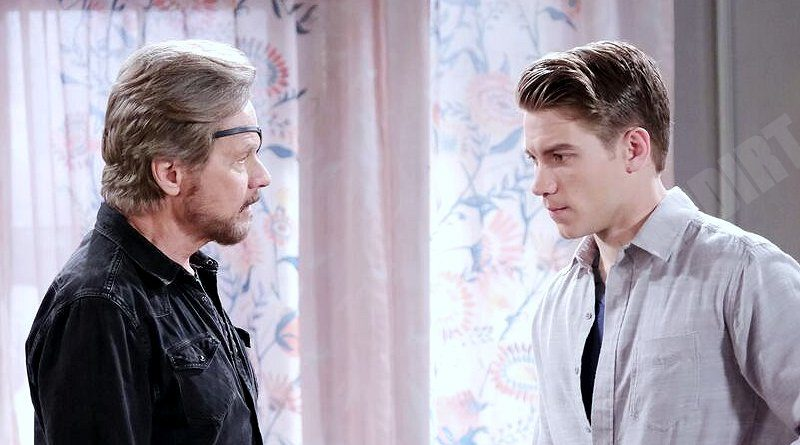 5 Early Days Of Our Lives Weekly Spoilers Steve Sides With Tripp After Dna Disaster Soap Dirt