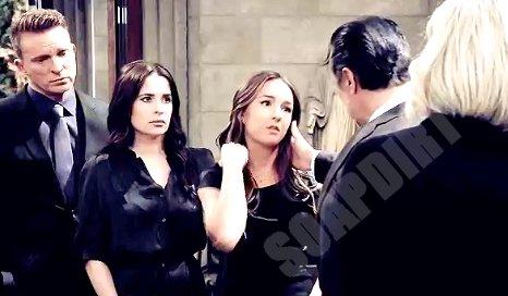 General Hospital Comings And Goings: Kristina Corinthos (Lexi Ainsworth) Sam McCall (Kelly Monaco) - Jason Morgan (Steve Burton)