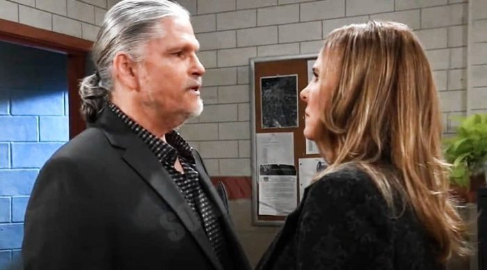 General Hospital Spoilers: Cyrus Renault (Jeff Kober) - Laura Spencer (Genie Francis)