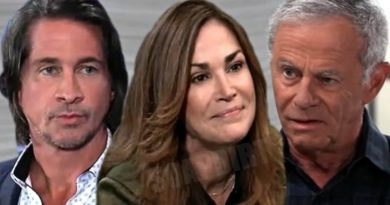 General Hospital Spoilers: Hamilton Finn (Michael Easton) - Jackie Templeton (Kim Delaney) - Robert Scorpio (Tristan Rogers)