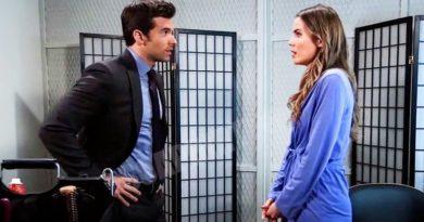 General Hospital Spoilers: Harrison Chase (Josh Swickard) - Sasha Gilmore (Sofia Mattsson)