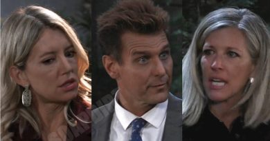 General Hospital Spoilers: Carly Corinthos (Laura Wright) - Jasper Jacks (Ingo Rademacher) - Nina Reeves (Cynthia Watros)