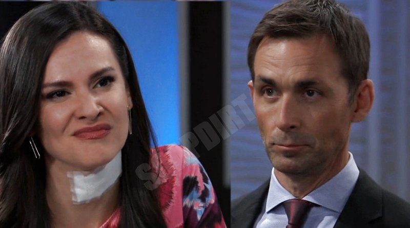 General Hospital Spoilers: Valentin Cassadine (James Patrick Stuart) - Brook Lynn Quartermaine (Briana Lane)