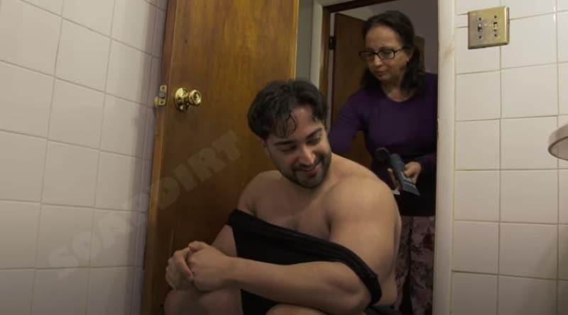 I Love a Mama's Boy - Son Shekeb Gets Back Shaved by his mom Laila