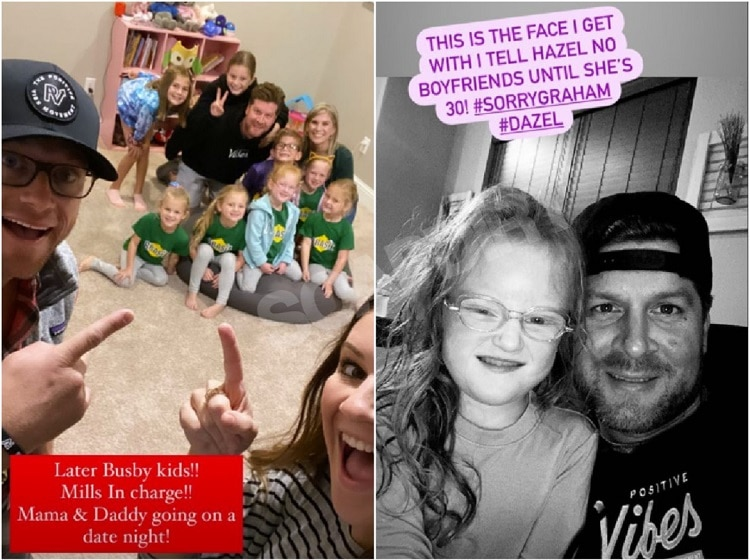 OutDaughtered: Dale Mills - Hazel Busby - Adam Busby - Danielle Busby