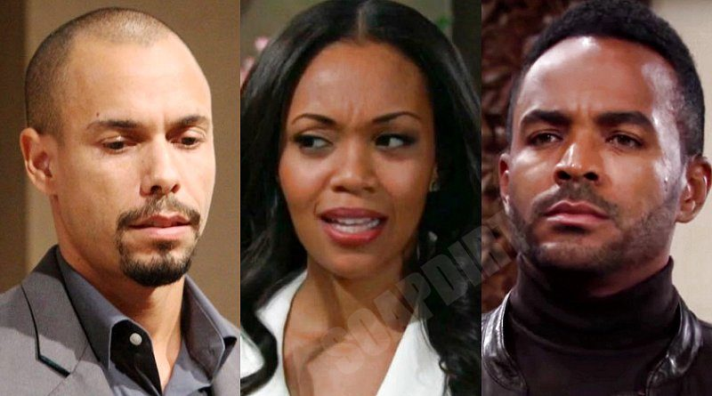 Young and the Restless Spoilers: Devon Hamilton (Bryton James) - Amanda Sinclair (Mishael Morgan) - Nate Hastings (Sean Dominic)