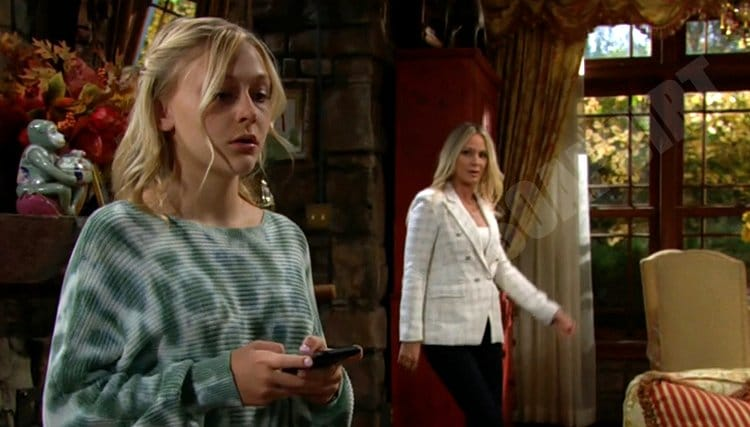 Young and the Restless Spoilers: Faith Newman (Alyvia Alyn Lind) - Sharon Newman (Sharon Case)