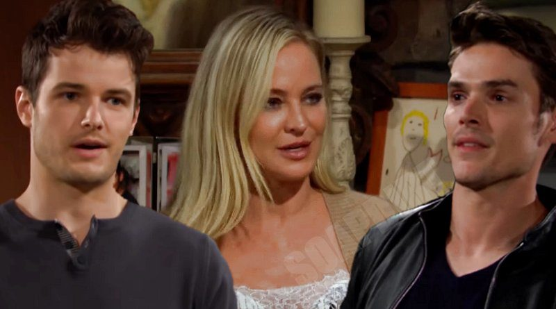 Young and the Restless Spoilers: Adam Newman (Mark Grossman) - Sharon Newman (Sharon Case) - Kyle Abbott (Michael Mealor)