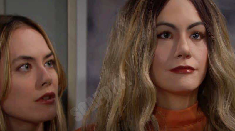 Bold and the Beautiful Spoilers: Hope Logan (Annika Noelle) - Mannequin - Hope 2